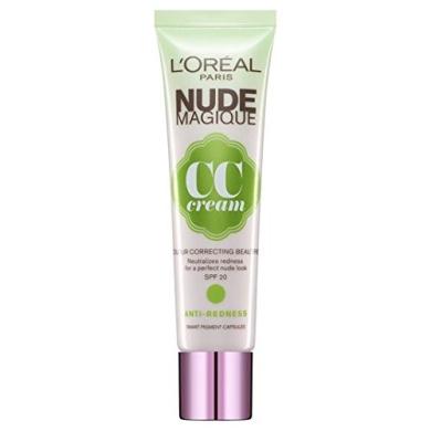 L'Oreal Paris Nude Magique CC Cream Anti-Redness 30ml