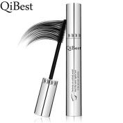 QiBest Eye Mascara Makeup Long Lasting False Eyelash Silicone Brush Curving Lengthening Thick Rimel Colossal Waterproof Mascara