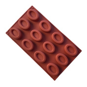 FantasyDay® Silicone Mould for Chocolate, Jelly and Candy etc. - 12 Donut Cakes