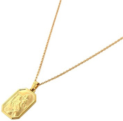 45 cm necklace - Gold Plated - 22 a0256
