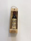 """Wine bottle shaped """"Amy"""" corkscrew bottle opener fridge magnet"""