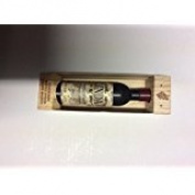 "Wine bottle shaped ""Alex"" corkscrew bottle opener fridge magnet"