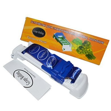 Focus AZ Cooking Tools Universal Dolmer Rolling Machine Turkish Sarma Stuffed Grape Leaves and Cabbage Leaves(Blue)
