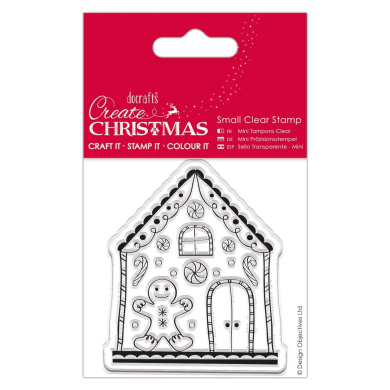 Gingerbread House Small Clear Stamp