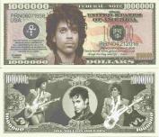 Novelty Dollar Prince Rodgers Nelson Commemorative Million Dollar Bills x 4 American Singer