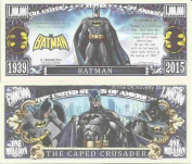 Novelty Dollar Batman The Caped Crusader Comic Book Hero Million Dollar Bills x 4 Gotham
