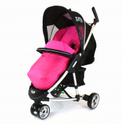 Deluxe Universal Footmuff to fit Mamas & Papas Luna, Sola - PINK