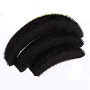 Popular 3Pcs Women Girl Hair Bump Bun Maker Style Accessories Tool