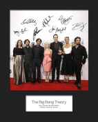 THE BIG BANG THEORY #2 Signed Mounted Photo 10 x 8 Print