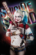 "GB eye Ltd ""Suicide Squad-Harley Quinn Good Night"" Maxi Poster, Wood, Multi-Colour, 61 x 91.5 cm"