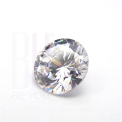 Be You White Cubic Zirconia AAA Quality 5.25 mm Star Cut Round Shape 50 pcs loose gemstone