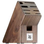 WMF Empty Knife Block, Wood, Dark Walnut