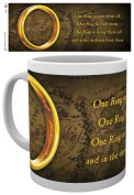 "GB eye Lord of the Rings ""One Ring"" Mug, Multi-Colour"