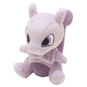 Pocket Monster Pokemon Mewtwo Plush Dolls Toys 15cm