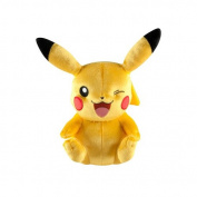 Pokemon 20cm 20th Anniversary Pikachu Winking Pose Plush Toy [Special Edition]