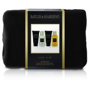 Baylis and Harding Gift for Him Men's Black Pepper and Ginseng Wash Bag Gift Set, 608 Gramme