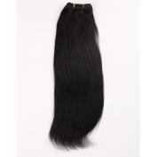 Wigsroyal 3 Bundles Yaki Human Hair Bundles 46cm ,40Z/Bundle,1# Colour