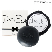 [YUCHOO BY ME] Dupi Bar Scalp Deep Cleansing Soap 100g - Hair Loss, Dandruff, Flaky and Smelly Scalp / Jojoba Oil, Charcoal, Carbonic Acid, Green Tea / Made in Korea