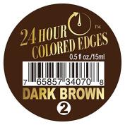 Ebin 24 Hour Coloured Edges .150ml Dark Brown