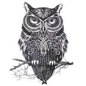 COKOHAPPY Large Temporary Tattoo , Owl Celtic for Men Women