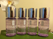 Lot of 4 Clinique Take the Day Off Makeup Remover for Lids, Lashes & Lips Travel Size 30ml/each X4= Total 120ml