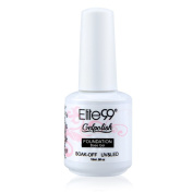 Elite99 Soak-off UV LED Gel Polish 15ml Base Coat Foundation Pro Nail Art