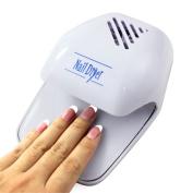 Portable Hand Finger Toe Nail Art Polish Paints Dryer Blower Mini Tool, No Battery