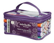 Michelle by Bar5F Twist-Flexi Rods 42-Pack, 18cm with Travel Carry Case