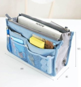 Services for You Handbag Pouch Bag in Bag Organiser Insert Organiser Tidy Travel Cosmetic Pocket