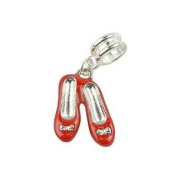 Universal Ruby Red Slippers Charms Set of 3