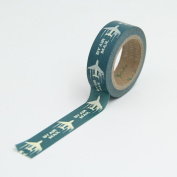 Plane By Air Mail Washi Paper Masking Tapes Gift Scrapbooking DIY Tape Crafts Diary Deco Album Decorative Stickers