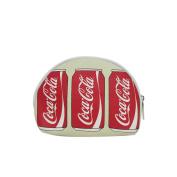 Coca-Cola Can Screen Printed Canvas Small Cosmetic Bag