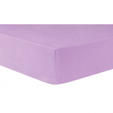 Trend Lab Lilac Deluxe Flannel Fitted Crib Sheet