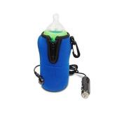 Katoot@ 12V Winter Portable Car Travel Milk Water Feeding Nursing Bottle Cup Warmer Heater Pouch For Infant Baby Kid Children