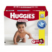 Huggies Snug & Dry Nappies, Size 6, 144 ct.