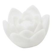 Academyus Battery-powered Colour Changing LED Waterproof Floating Lily Flower Night Light Flameless Candle