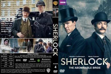 Sherlock: S1-3 & Abominable Bride [DVD_Movies]