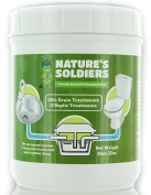 Drain Cleaner and Septic Tank Treatment 0.9kg. Safe Natural Enzymes. Powerful Bacteria.Nature's Soldiers.