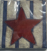 Heritage Red Whit Blue Star And Strips Designer Napkins - 30 Count