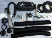 Diesel air heater 4kW/ 13,600 BTU/hr 12volt same as Webasto/Airtronic- Marine set!
