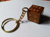 The Indian Arts Wooden keyring Dies shaped