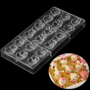 Grainrain Candy making moulds 9 Hello kitty Polycarbonate PC Chocolate Mould DIY Mould Cookie Tools 67