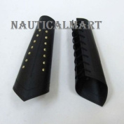 Mediaeval Roman Leather Arm Guard with Brass Accent By Nauticalmart