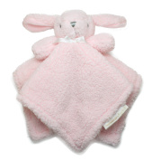 Blankets and Beyond Pink Bunny Baby Security Blanket Plush