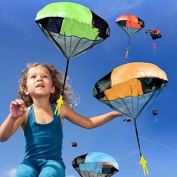 Hand Throwing kids mini play parachute toy soldier Outdoor sports Children's Educational Toys. 2016