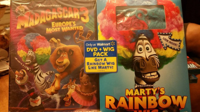 Madagascar 3 Europes most wanted dvd