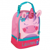 Personalised Stephen Joseph Unicorn Lunch Pal with Embroidered Name