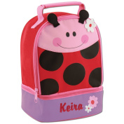 Personalised Stephen Joseph LadyBug Lunch Pal with Embroidered Name