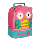 Personalised Stephen Joseph Owl Lunch Pal with Embroidered Name