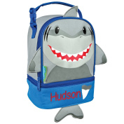 Personalised Stephen Joseph Shark Lunch Pal with Embroidered Name